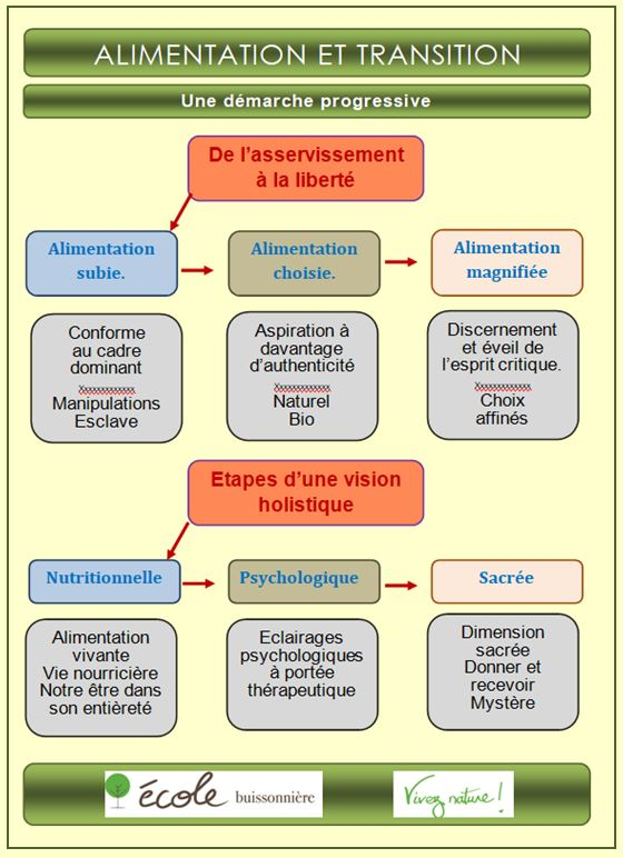 Capture diagramme transition alimentation